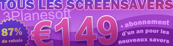 Special Offer - All screensavers for just $149!